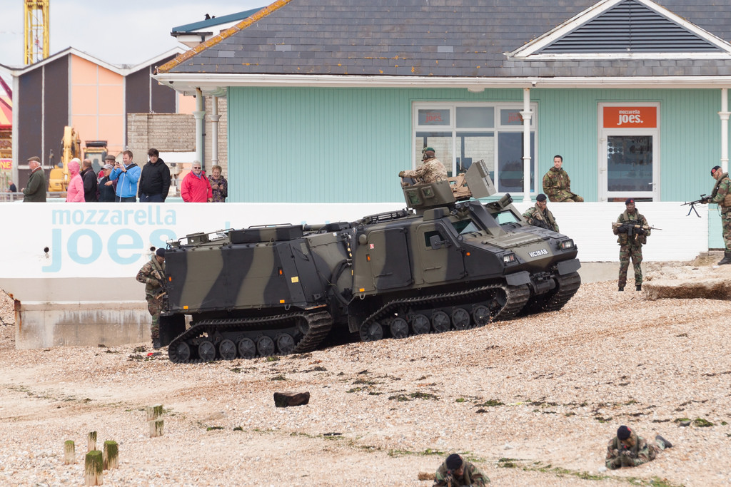 UK Floats Idea of New Support Vehicle for Marines