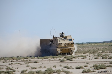 WSMR  to test an improved version of the M270A1 Multiple Rocket Launch System