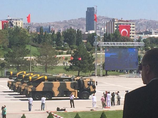 Photo : Turkey celebrates 93rd Victory Day  with parade