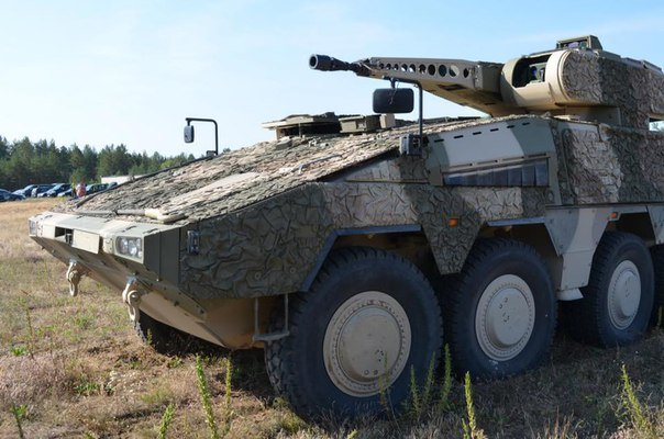 Testing of Boxer armoured fighting vehicles begins in Lithuania