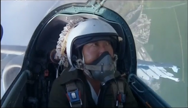 North Korean air force pilot take selfies for first time 4
