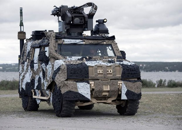 Saab Reveals New Barracuda Mobile Camouflage Systems For Urban Warfare