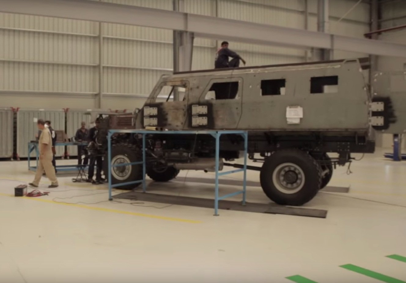 STREIT Group showcases its range of Armored Tactical Vehicles