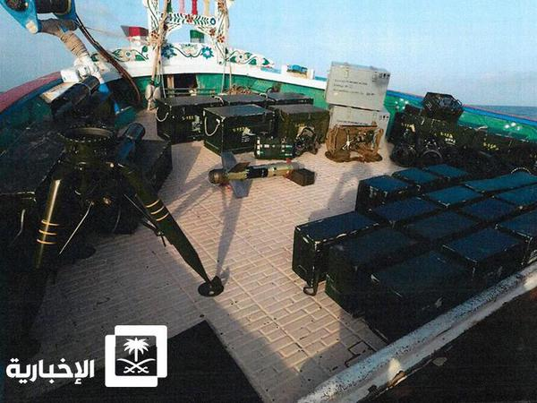 Arab coalition seizes Iranian boat with weapons for Yemen