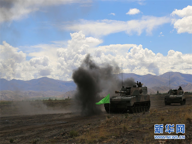 Chinese troops stationed in Tibet 2