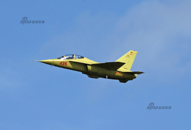 New trainer unveiled at PLAAF public day in Changchun, Jiling 6