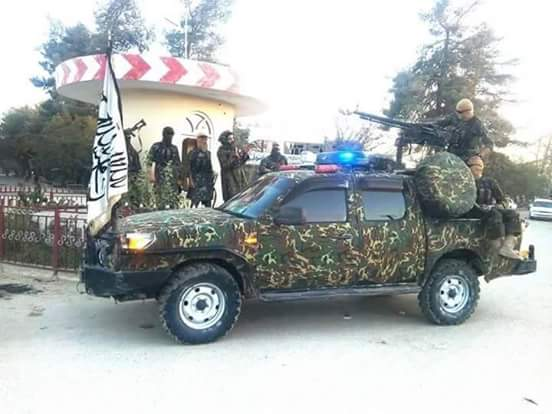 Taliban Show photos of Special Forces