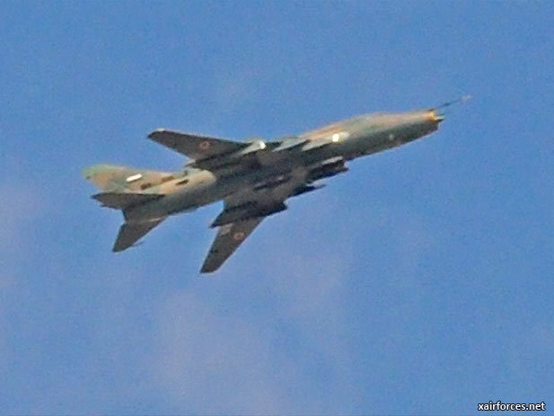 ISIS have claimed they have shot down a Su-22M-4 in Syria