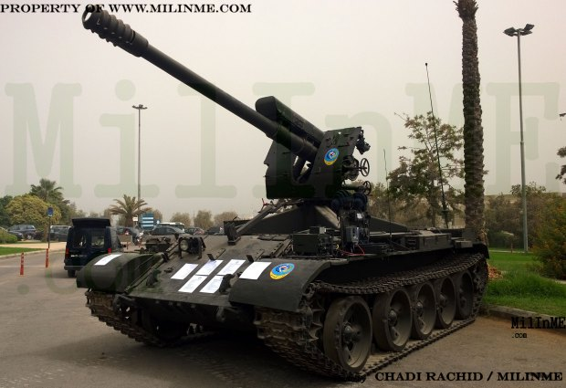 Tiran self-propelled howitzer of Lebanese Armed Forces
