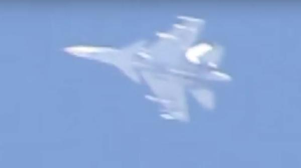 Photo of Russian Air Force Su-30SM covered airstrikes in eastern Aleppo