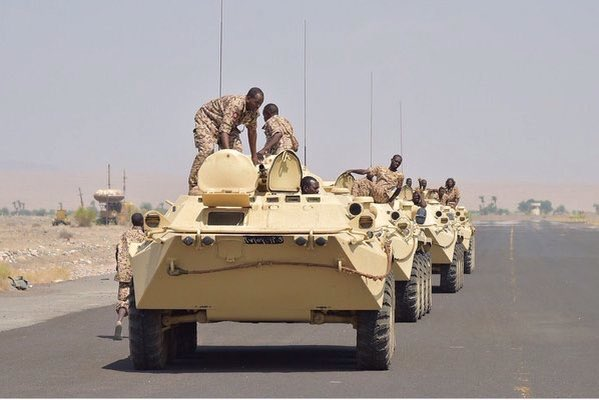 Troops from Sudan join Saudi-led campaign in Yemen 2