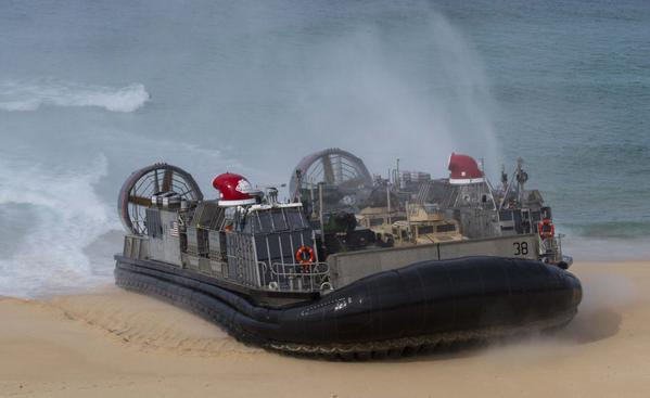 U.S. and Portuguese Marines execute an amphibious landing in Pinheiro Da Cruz, Portugal 1