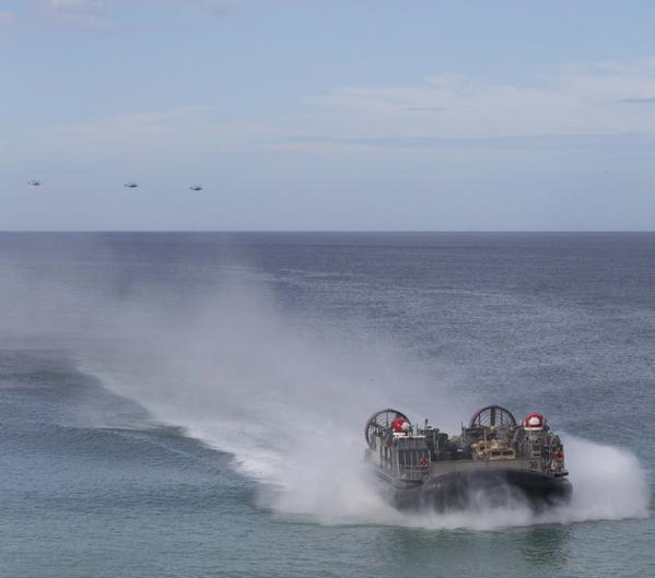 U.S. and Portuguese Marines execute an amphibious landing in Pinheiro Da Cruz, Portugal 2