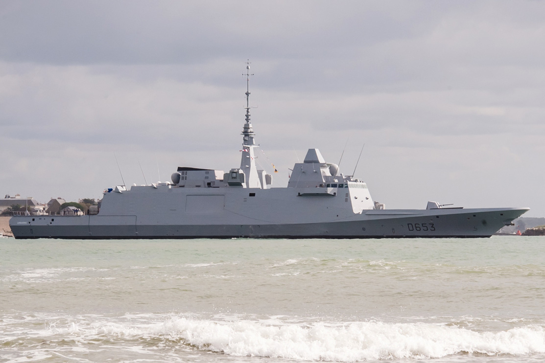 France's third FREMM frigate ready for sea trials