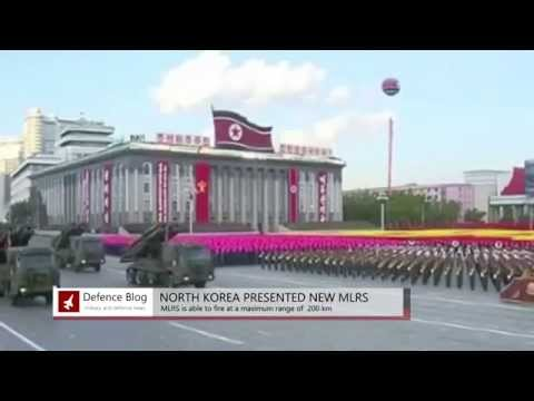 North Korea Presented New KN-09 Rocket Launcher System
