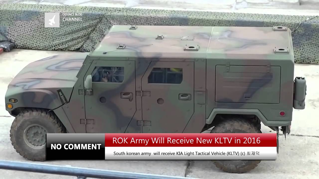 South Korean Army  Will Receive New KIA Light Tactical Vehicle in 2016