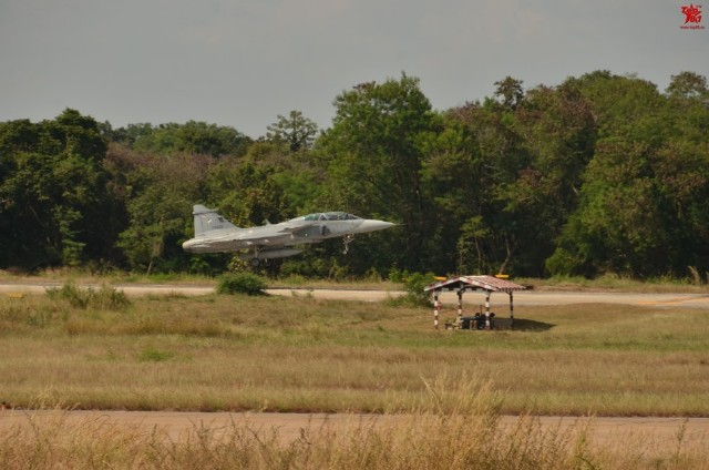 Thailand Gripens and Chinese PLAAF J-11 joint exercises 11