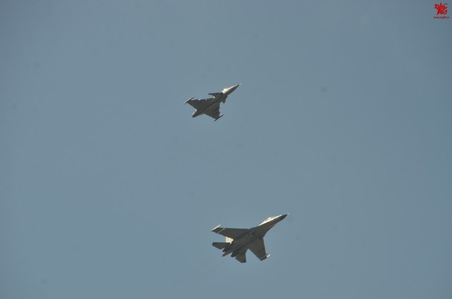Thailand Gripens and Chinese PLAAF J-11 joint exercises 3