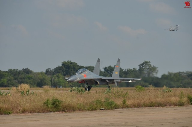 Thailand Gripens and Chinese PLAAF J-11 joint exercises 9