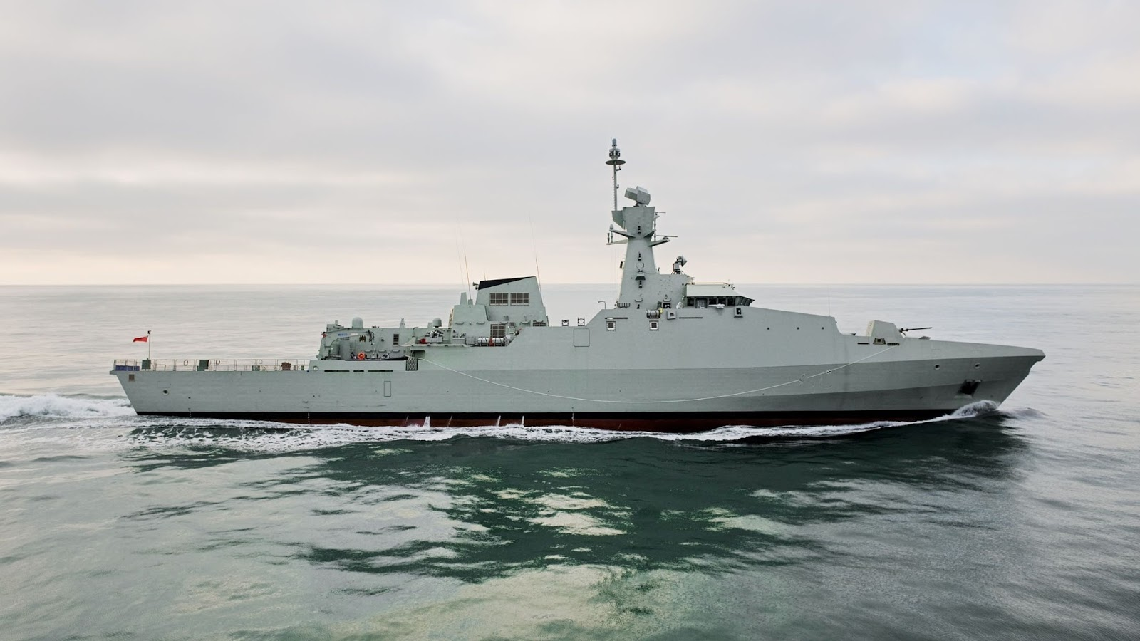 Royal Thai Navy show its interest in BAE 99 meters corvette