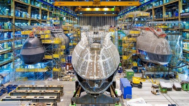 U.K. awards BAE Systems contract for Astute-class submarine