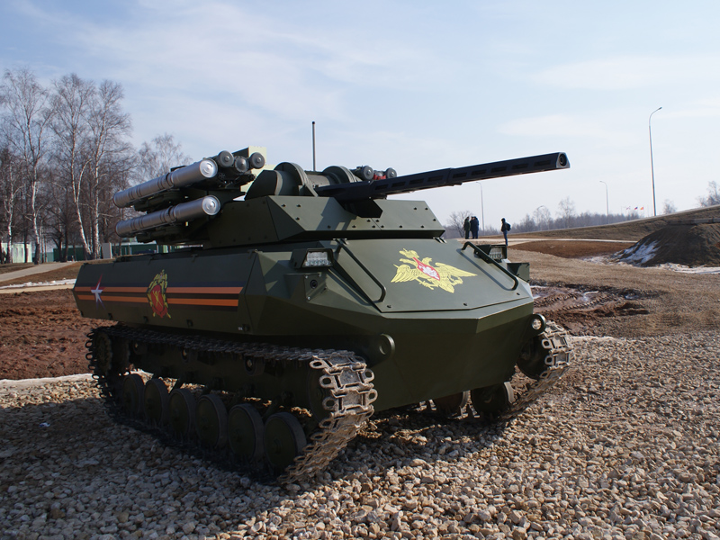 Russia To Start Promoting Uran 9 Combat Robotic System