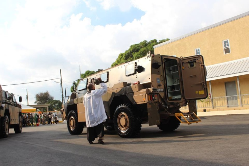 Bushmaster Protected Mobility Vehicle was added to the arsenal of the Jamaica Defence Force