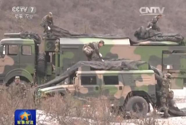 Chinese PLA Missile division DF31A drills 4