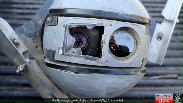 Islamic State Claims To Have Shot Down An Iranian Drone In West Of Samarra 2