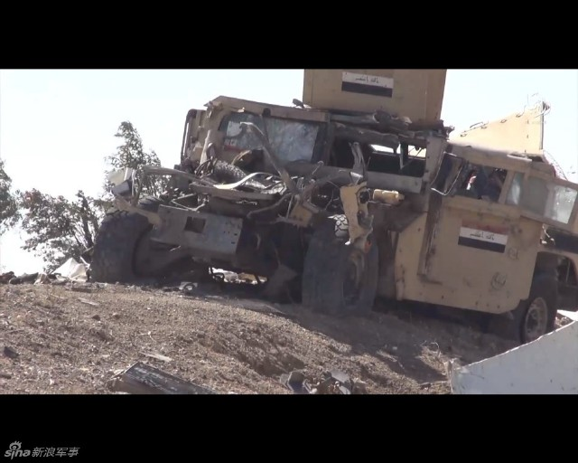 Islamic State counter attack in Ramadi 1