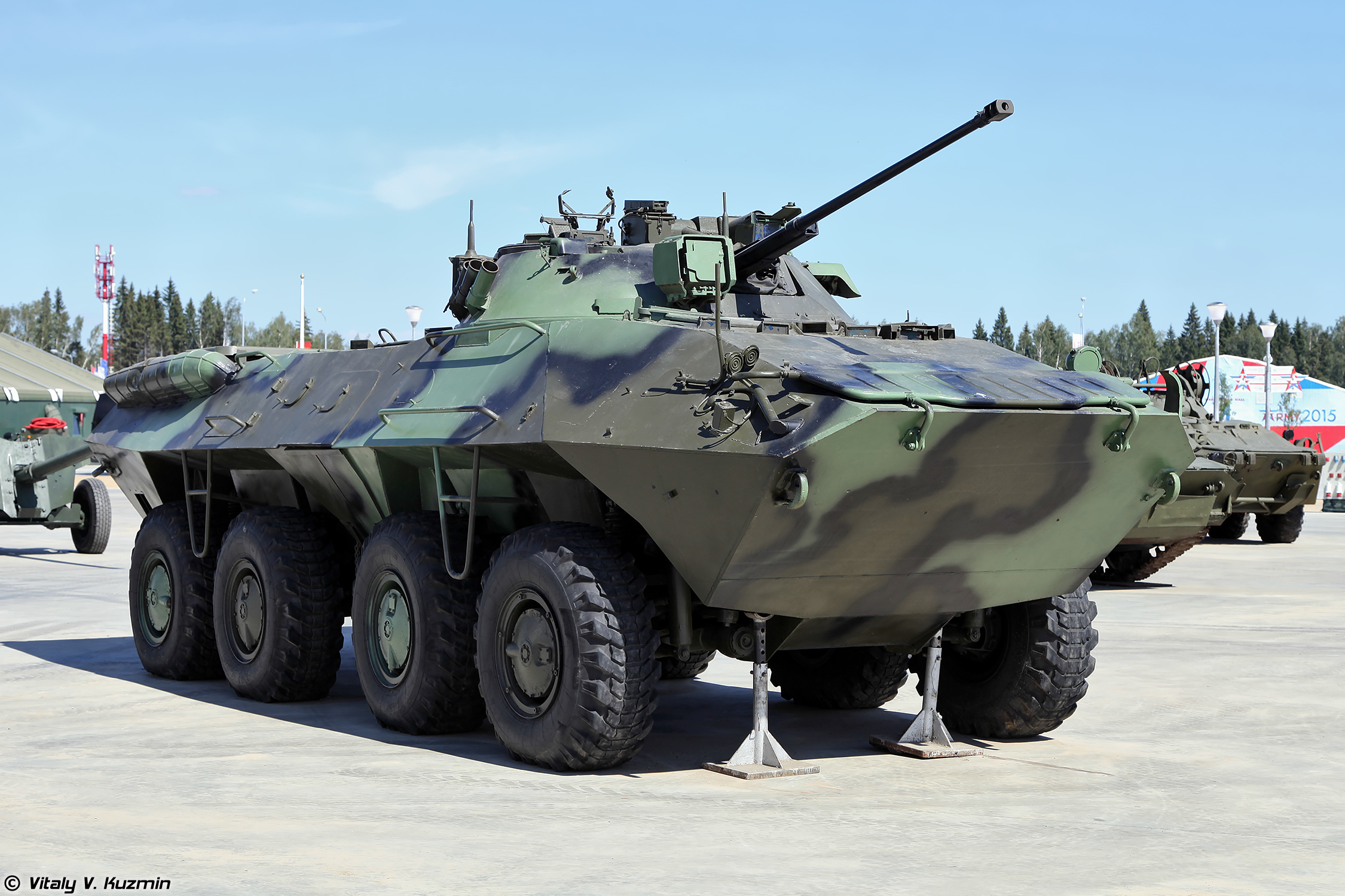 Photos of Russian BTR-90 prototype of armored personnel ...