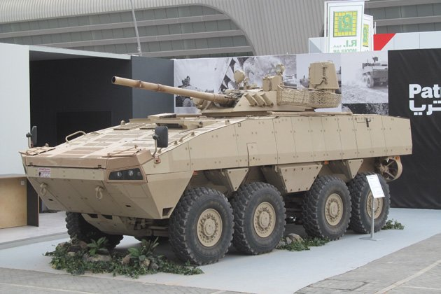 Patria AMV vehicle selected by the United Arab Emirates