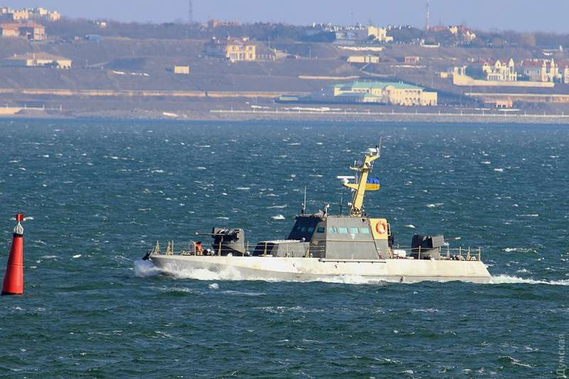 Sea trials start for new  Ukrainian Navy Gurza-M small armored artillery boats