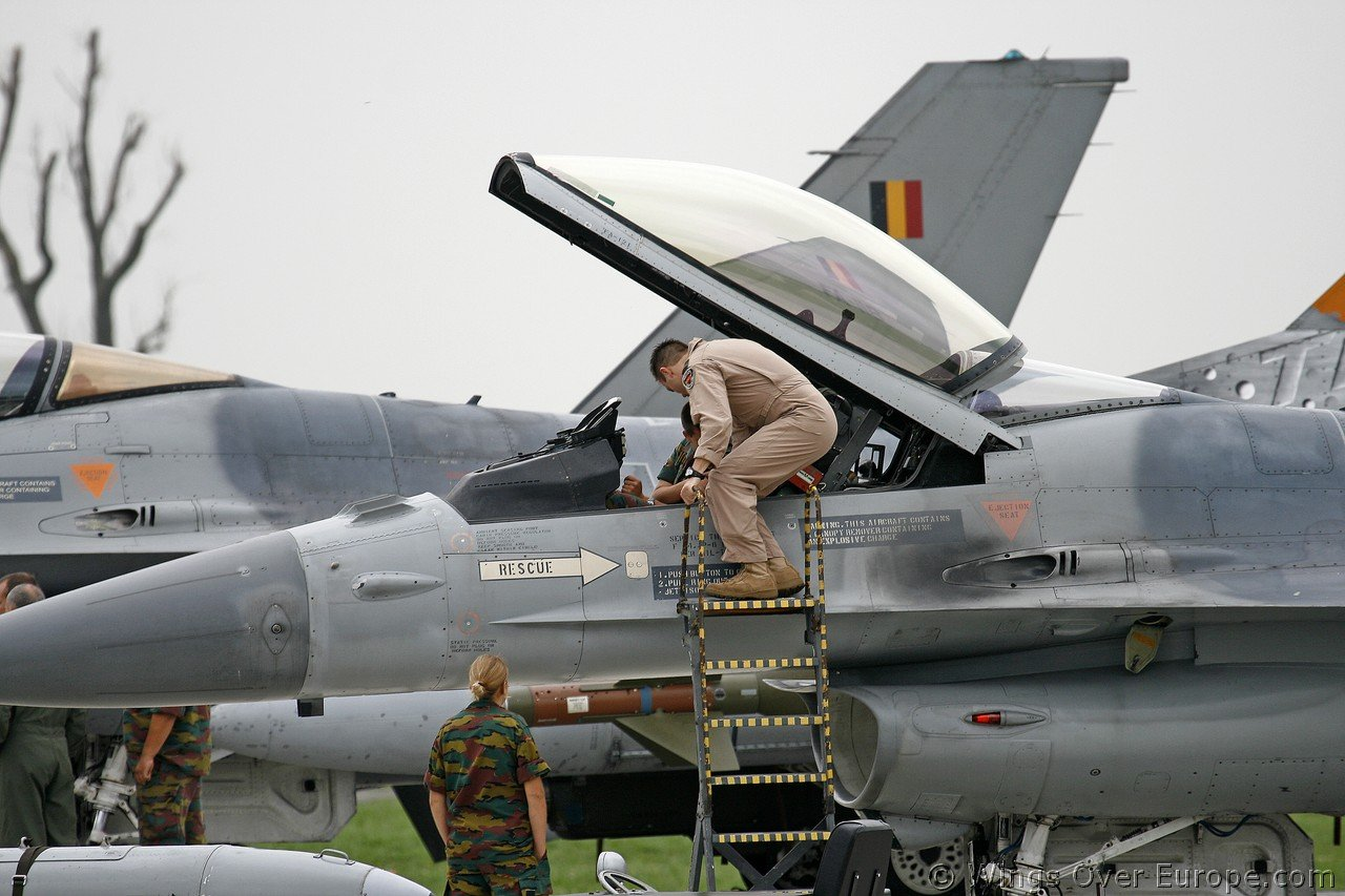 Belgium's plan to purchase 34 fighter aircraft