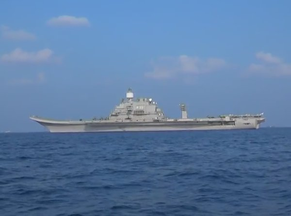 Indian aircraft carrier INS Vikramaditya visit to Maldives