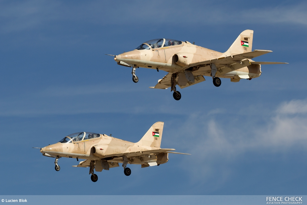 Jordania has received Hawk Mk63 Advanced Jet Trainer from United Arab Emirates