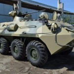 In Russia developed new BTR-87 Armoured personnel carrier as a private venture  for export
