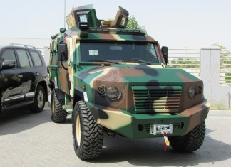 «Tygra» Light Armored Personnel Carrier