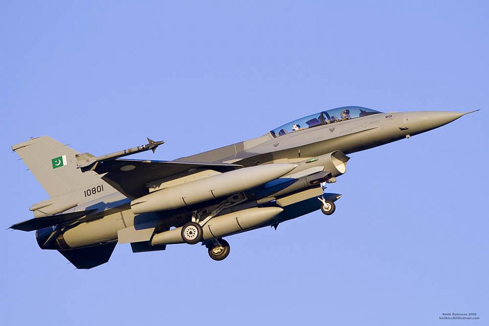 US Congress stops $430 million aid to Pakistan for buying 8 F-16s