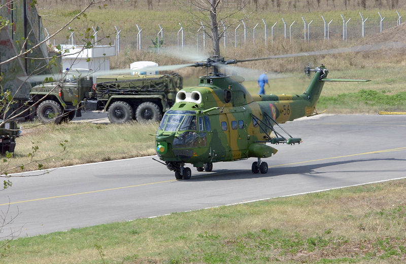 Pakistan  may buy Romanian IAR 330 Medium Utility Helicopter