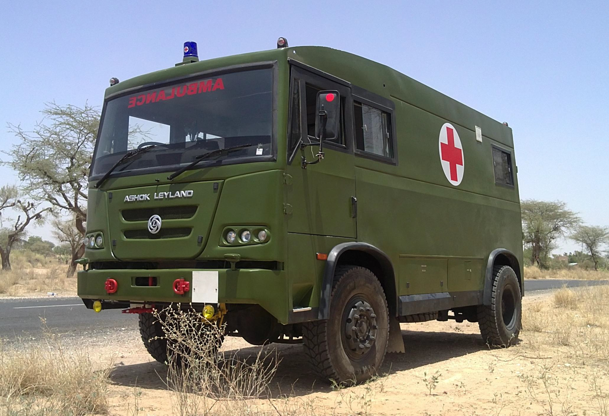 Indian Army Has Ordered 825 Ashok Leyland Ambulance 4 215 4