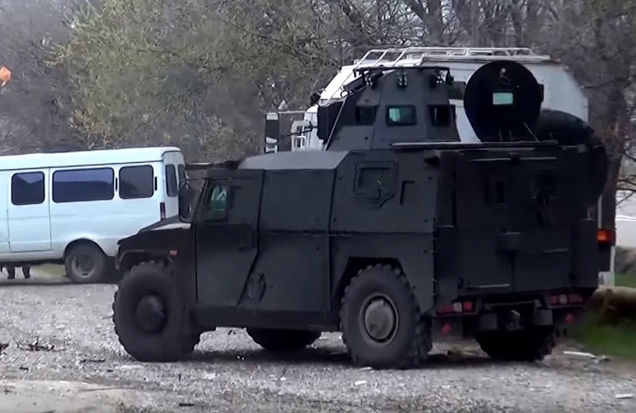 In Russia spotted new Armored Assault Vehicle for  Federal Security Service