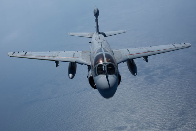 Marine Corps EA-6B Prowler aircraft have deployed to Turkey