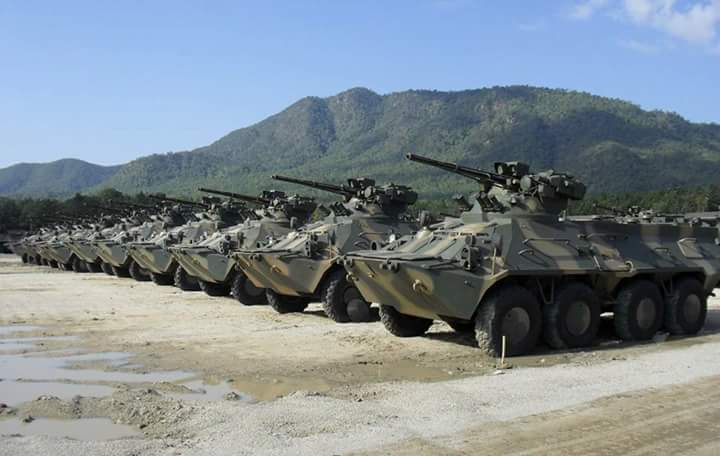 Myanmar wants to buy more Ukrainian BTR-3U wheeled armored personnel carriers