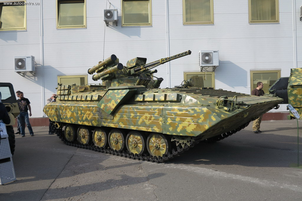 Ukrainian upgrade package for the  BMP-1 UM IFV