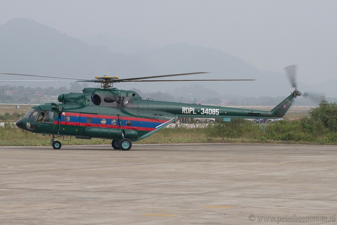 Russia signed a contract with Ministry of Defence of Laos for repair of military helicopters