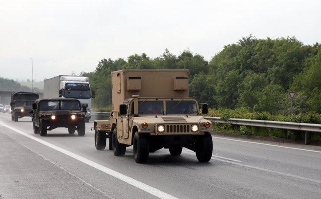 US signal Soldiers traverse three countries  during exercise Stoney Run
