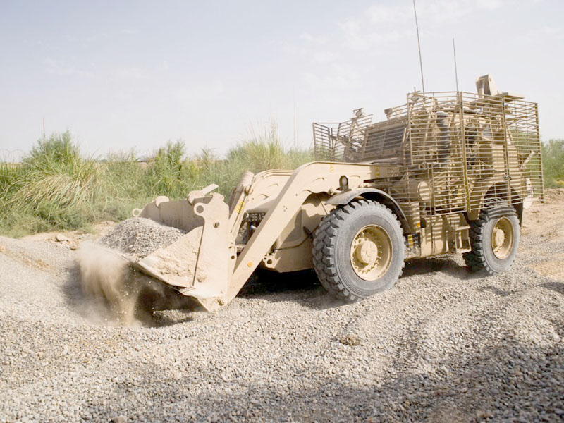 DRS Technologies to develop  automated route clearance vehicle solutions for the US military