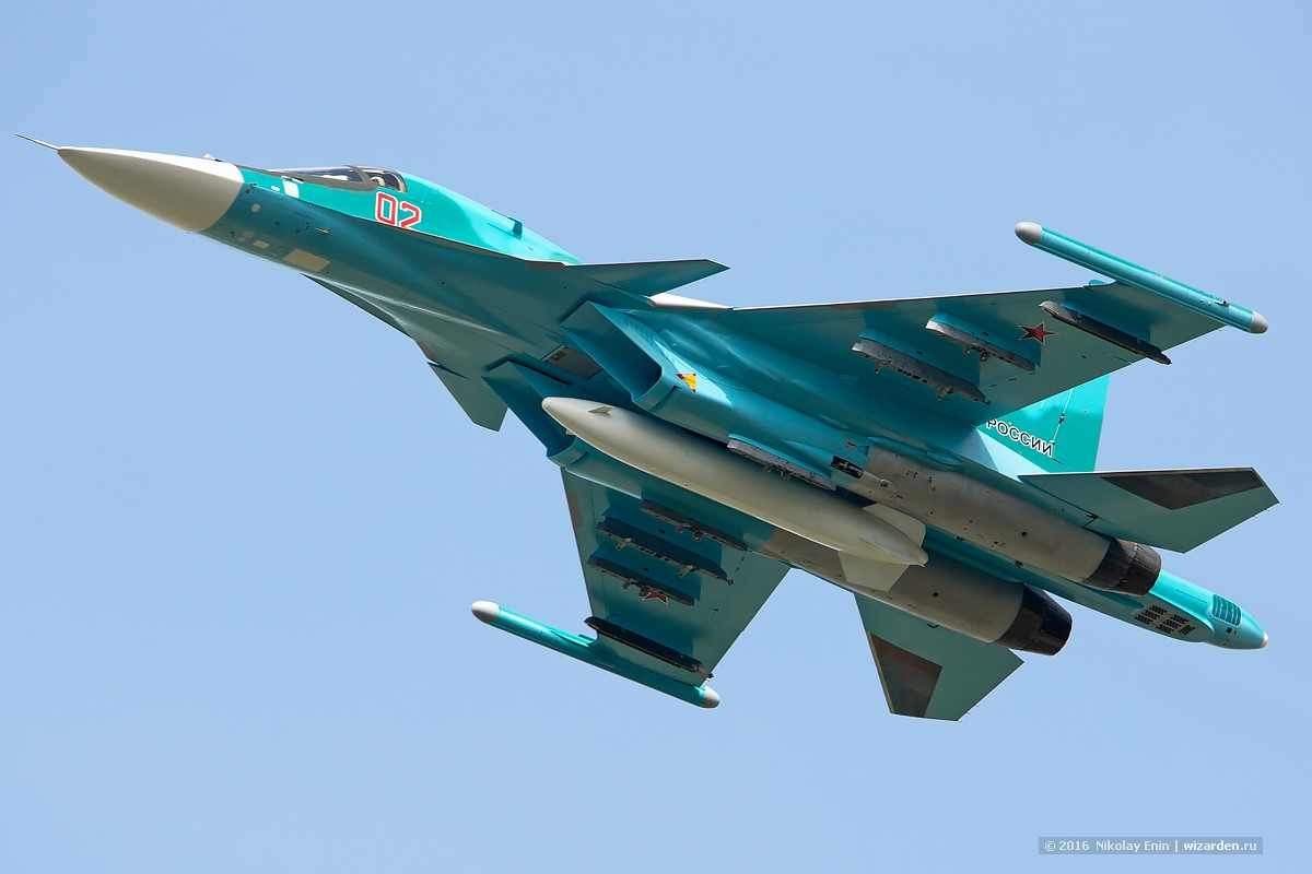 Flight incident with a Su-34 bomber in Khurba 27