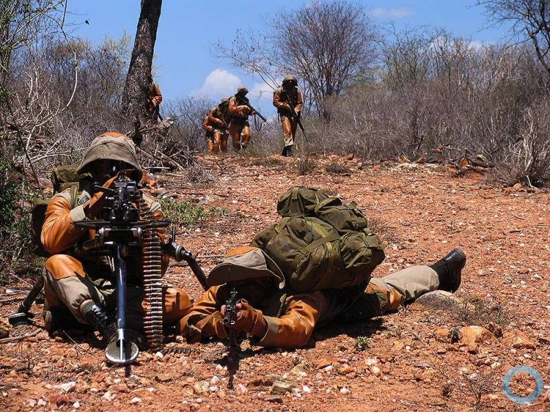 Special training prepares Brazilian soldiers for operations in Arid climates